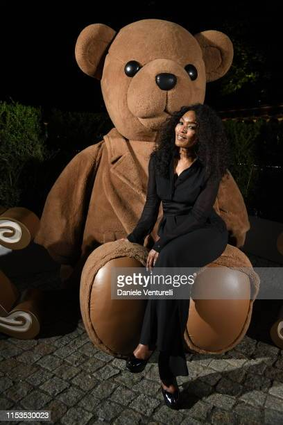 Angela Bassett, wearing Max Mara, attends a dinner after the Max Mara Resort 2020 Fashion Show at Neues Museum on June 03, 2019 in Berlin, Germany.