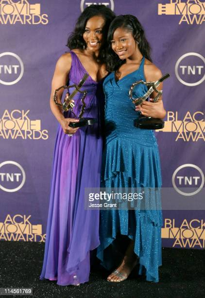 Angela Bassett winner Outstanding Performance by an Actress in a Supporting Role for Akeelah and the Bee and Keke Palmer winner Outstanding...