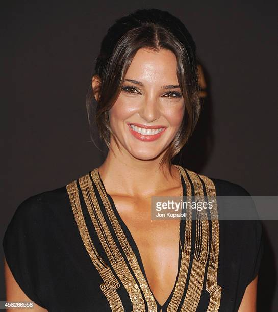Angela Bellotte arrives at the 2014 LACMA Art Film Gala Honoring Quentin Tarantino And Barbara Kruger at LACMA on November 1 2014 in Los Angeles...