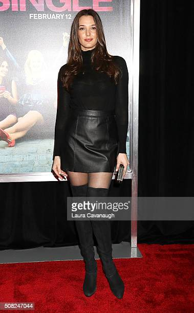 Angela Bellotte attends 'How To Be Single' New York Premiere Arrivals at NYU Skirball Center on February 3 2016 in New York City