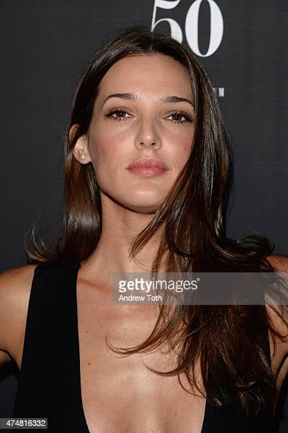 Angela Bellotte attends the 'Club Life' New York premiere at Regal Cinemas Union Square on May 26 2015 in New York City