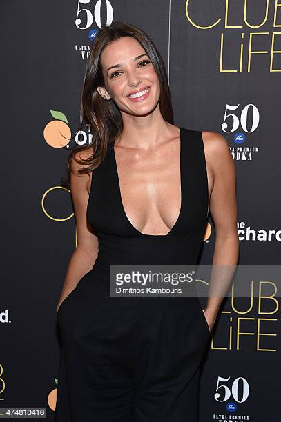 Angela Bellotte attends the 'Club Life' New York Screening at Regal Cinemas Union Square on May 26 2015 in New York City