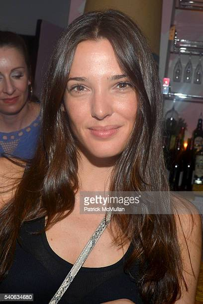 Angela Bellotte attends the Lower East Studios summer party at The Lucky Bee Hosted by Steve Caputo Rupert Noffs and Chef Matty Bennett at The Lucky...
