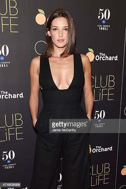 Angela Bellotte attends the New York premiere of 'Club Life' at Regal Cinemas Union Square on May 26 2015 in New York City