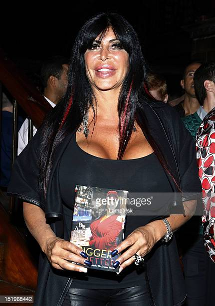 Angela Big Ang Raiola attends Big Ang's Bigger Is Better Book Release Party at The Cutting Room on September 13 2012 in New York City