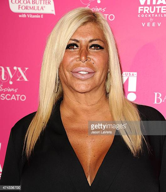 Angela Big Ang Raiola attends OK Magazine's So Sexy event at SkyBar at the Mondrian Los Angeles on May 21 2015 in West Hollywood California