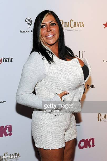 Angela Big Ang Raiola attends OK Magazine's So Sexy NY party at Marquee on May 28 2014 in New York City