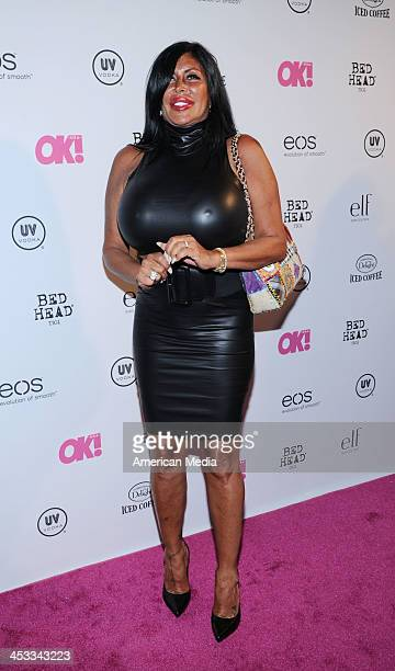 Angela Big Ang Raiola attends OK Magazine's So Sexy Party on May 1 2013 in New York City