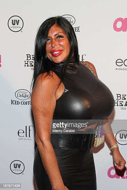 Angela Big Ang Raiola attends the 2013 OK Magazine So Sexy Party at Marquee on May 1 2013 in New York City