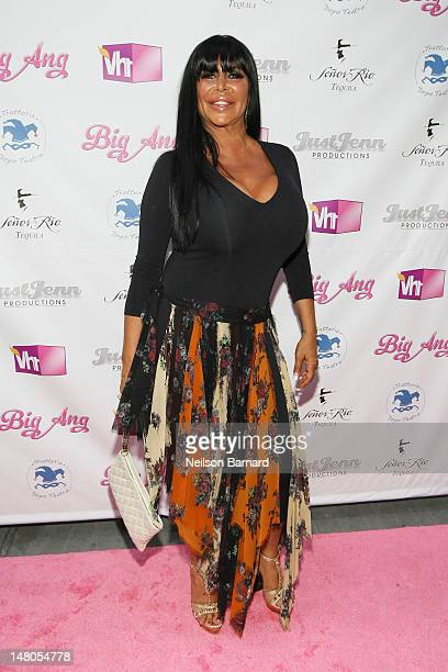 """Angela """"Big Ang"""" Raiola attends the VH1 Big Ang Party at Trattoria Dopo Teatro on July 8, 2012 in New York City."""