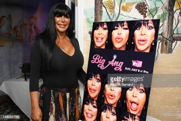 Angela Big Ang Raiola attends the VH1 Big Ang Party at Trattoria Dopo Teatro on July 8 2012 in New York City