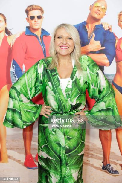 Angela Bishop attends the Australian premiere of 'Baywatch' at Hoyts EQ on May 18 2017 in Sydney Australia