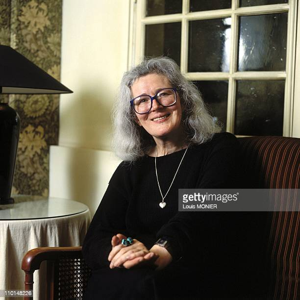 Angela Carter in France on June 08 1988