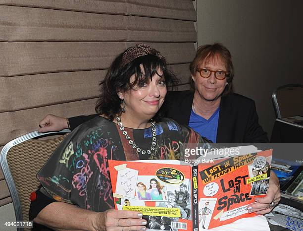 Angela Cartwright and Bill Mumy attends Day 1 of the Chiller Theatre Expo at Sheraton Parsippany Hotel on October 23 2015 in Parsippany New Jersey