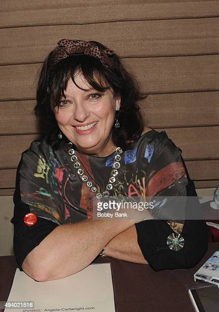 Angela Cartwright attends Day 1 of the Chiller Theatre Expo at Sheraton Parsippany Hotel on October 23 2015 in Parsippany New Jersey