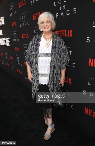 Angela Cartwright attends Netflix's 'Lost In Space' Los Angeles premiere on April 9 2018 in Los Angeles California