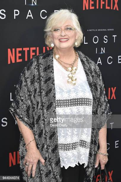 "Angela Cartwright attends the ""Lost In Space"" Season 1 Premiere at ArcLight Cinerama Dome on April 9, 2018 in Hollywood, California."