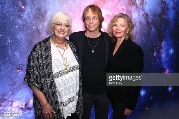 Angela Cartwright Bill Mumy and Marta Kristen attend Netflix's 'Lost In Space' Los Angeles premiere on April 9 2018 in Los Angeles California