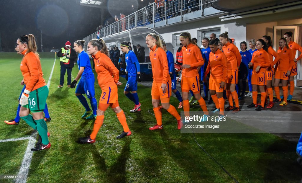 Slovakia v Holland - Women's World Cup Qualifier