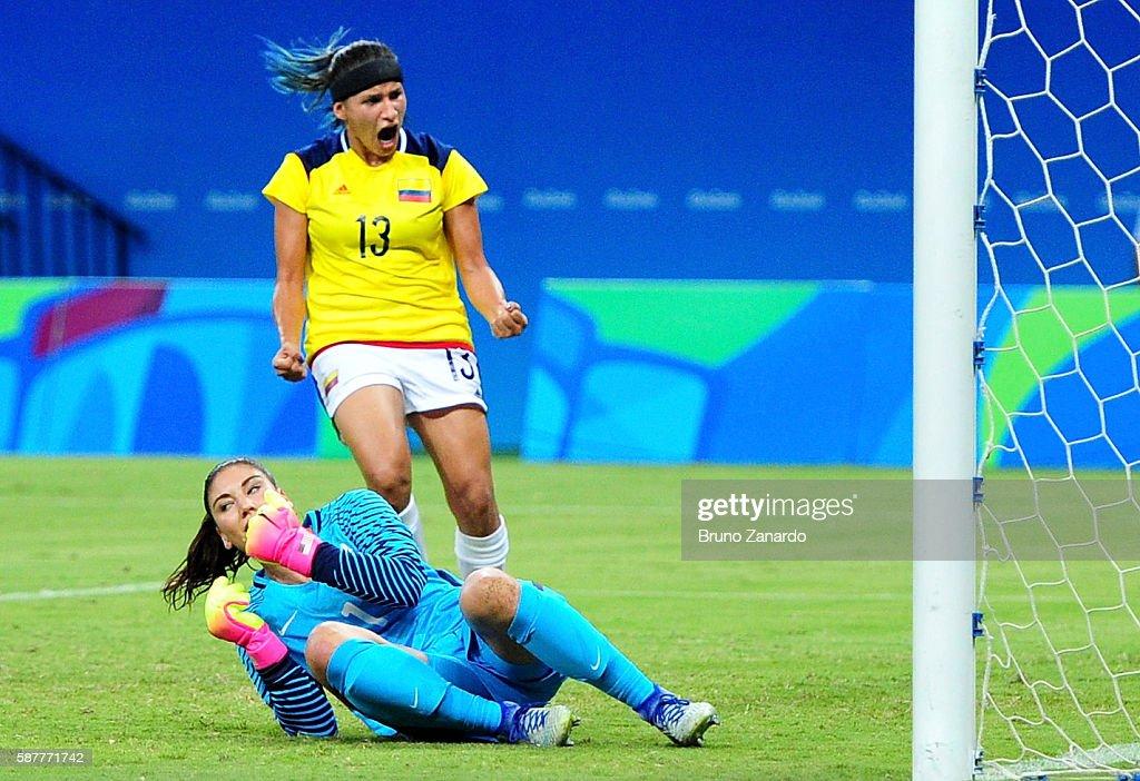 Colombia v USA: Women's Football - Olympics: Day 4 : News Photo