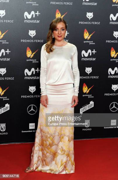 Angela Cremonte attends Feroz Awards 2018 at Magarinos Complex on January 22 2018 in Madrid Spain