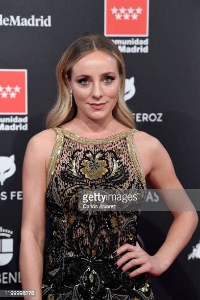 Angela Cremonte attends Feroz awards 2020 red carpet at Teatro Auditorio Ciudad de Alcobendas on January 16 2020 in Madrid Spain