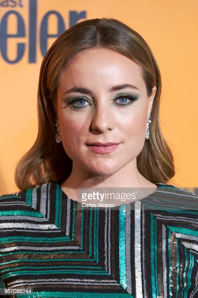 Angela Cremonte attends the 2018 Conde Nast Traveler awards ceremony at Casino de Madrid on May 10 2018 in Madrid Spain