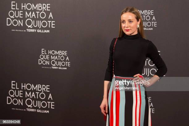 Angela Cremonte attends 'The man who killed Don Quixote' Madrid Premiere on May 28 2018 in Madrid Spain