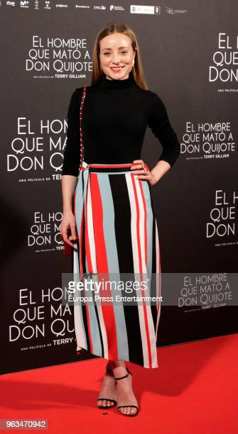 Angela Cremonte attends the premiere of 'El hombre que mato a Don Quijote' at Dore Cinemas on May 28 2018 in Madrid Spain