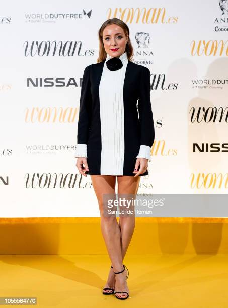 Angela Cremonte attends Woman awards 2018 at the Casino de Madrid on October 30 2018 in Madrid Spain