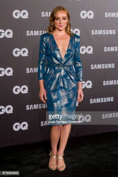Angela Cremonto attends 'GQ Men Of The Year' awards 2017 at The Westin Palace Hotel on November 16 2017 in Madrid Spain