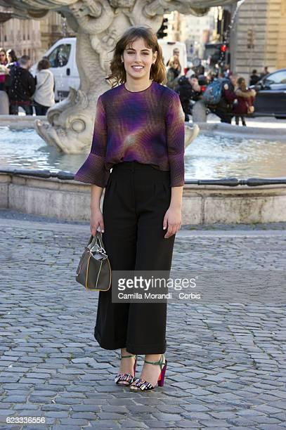 Angela Curri attends a photocall for 'La Mafia Uccide Solo D'Estate' on November 15 2016 in Rome Italy