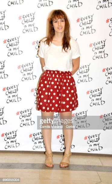 Angela Curri attends the 'Every Child Is My Child' Presentation In Rome on June 16 2017 in Rome Italy