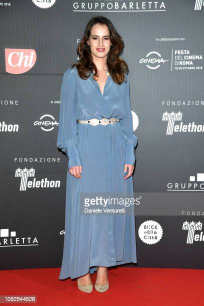 Angela Curri attends the Telethon Gala during the 13th Rome Film Fest at Villa Miani on October 19 2018 in Rome Italy