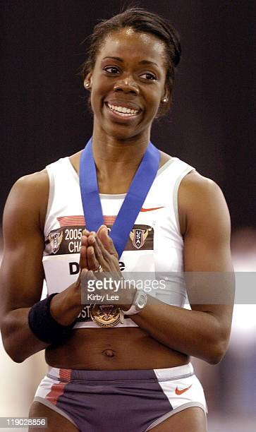 Angela Daigle won the women's 60 meters in 7.09 seconds in the USA Track & Field Indoor Championships. The performance earned Daigle, the inaugural...