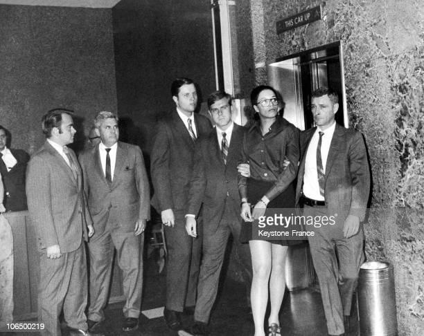 Angela Davis Arrested In 1970 In New York