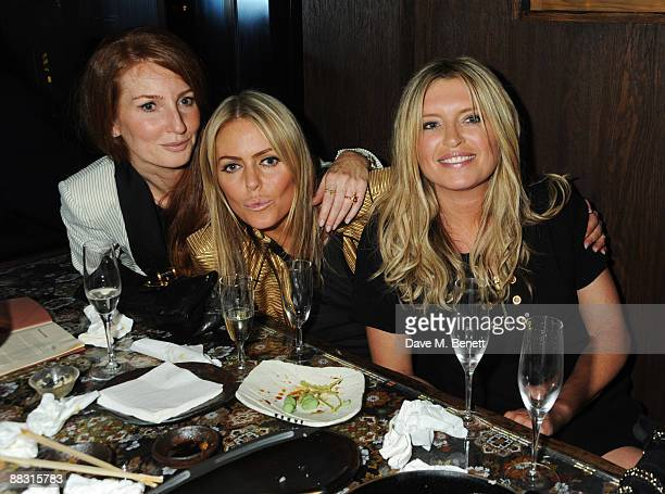 Angela Dunn, Patsy Kensit and Tina Hobley attend the launch party for Greta Scacchi's Sustainable Fishing Campaign alongside the new film 'End Of The...