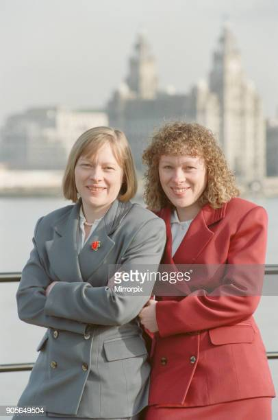 Angela Eagle and her twin sister Maria pictured in Liverpool February 1992 Angela Eagle is fighting Jeremy Corbyn for the 2016 leader of the Labour...