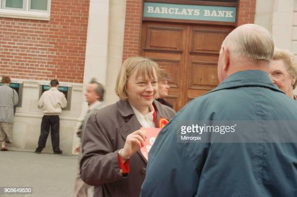 Angela Eagle campaigning in Liverpool April 1997 Both Angela and her twin sister Maria are Labour politicians Angela Eagle is fighting Jeremy Corbyn...
