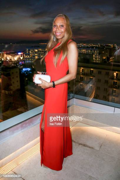 Angela Ermakova attends the Remus Lifestyle Night on August 2 2018 in Palma de Mallorca Spain