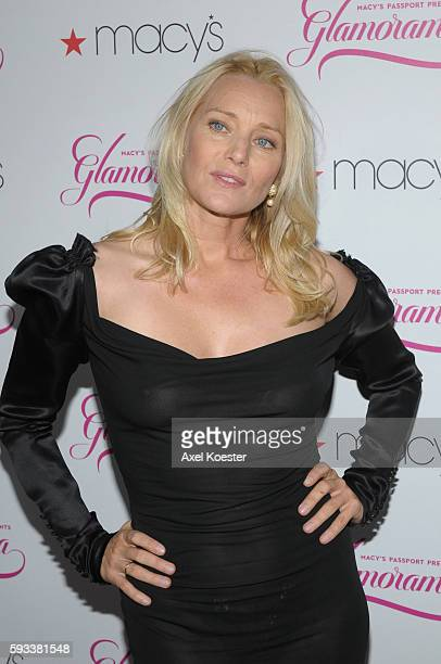 Angela Featherstone arrives to Macy's Passport Presents Glamorama 2011ARTrageous event to benefit AIDS Project Los Angeles and Project Angel Food at...