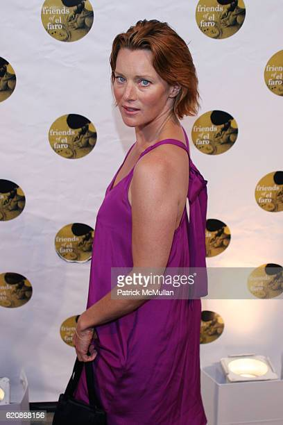 Angela Featherstone attends 5TH ANNUAL FRIENDS OF EL FARO BENEFIT at Boulevard 3 on August 7 2008 in Hollywood CA