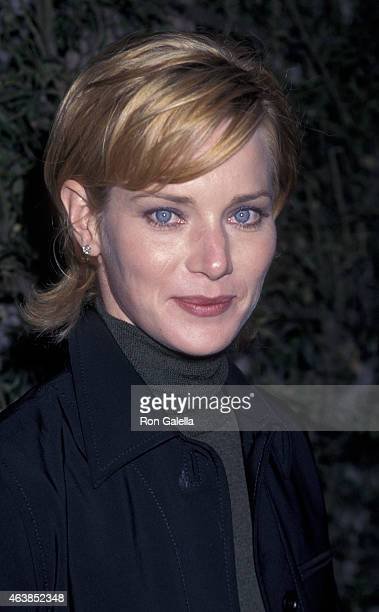 Angela Featherstone attends ABC TV Summer Press Tour on July 21 1997 at the Ritz Carlton Hotel in Pasadena California