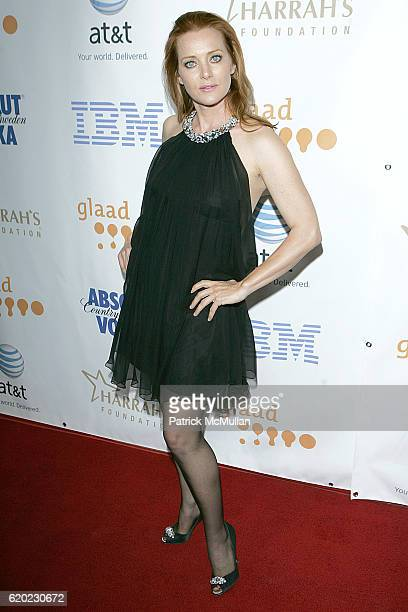 Angela Featherstone attends The 19th Annual GLAAD Media Awards at Kodak Theatre on April 26 2008 in Hollywood CA