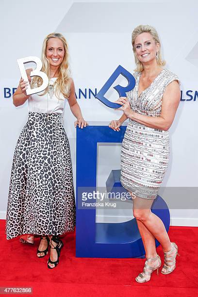 Angela FingerErben and Bettina von Schimmelmann attend the Bertelsmann Summer Party on June 18 2015 in Berlin Germany