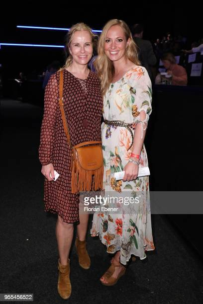 Angela FingerErben and Katja Burkard during the premiere of 'Liliane Susewind Ein tierisches Abenteuer' at Cinedom on May 6 2018 in Cologne Germany