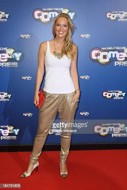 Angela FingerErben attends the 17th Annual of the German Comedy Awards at Coloneum on October 15 2013 in Cologne Germany