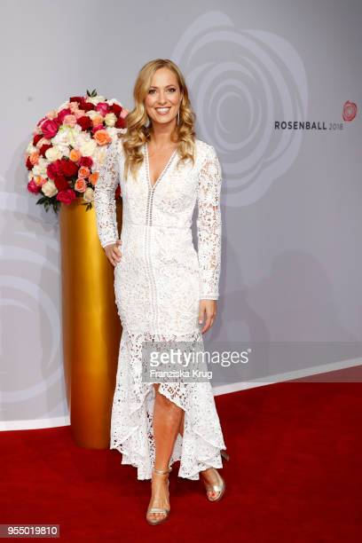 Angela FingerErben attends the Rosenball charity event at Hotel Intercontinental on May 5 2018 in Berlin Germany