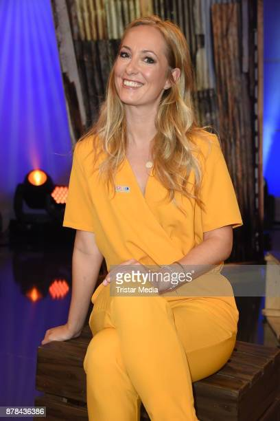 Angela FingerErben attends the RTL Telethon 2017 on November 24 2017 in Huerth Germany