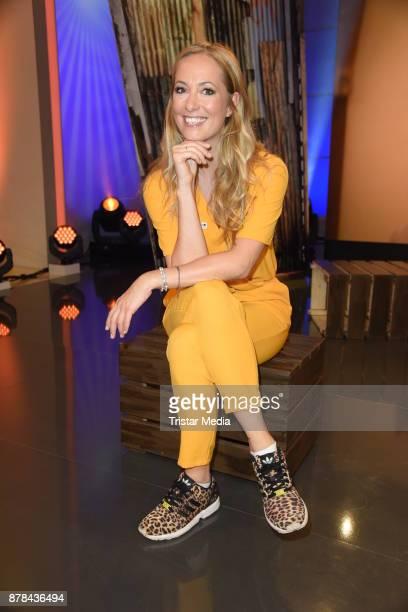 Angela FingerErben attends the RTL Telethon 2017 on November 24 2017 in Huerth Germany